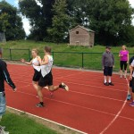 "Kilcoole AC having a blast at the ""Have a Go, Track and Field"" day"
